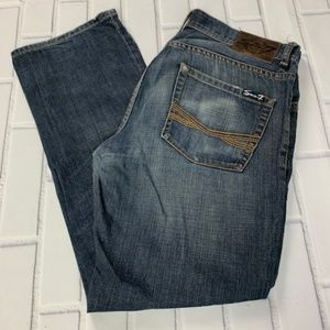 7 For All Mankind Men's Straight Jeans 32 x 29